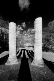 Duncombe Park, Temple Columns_