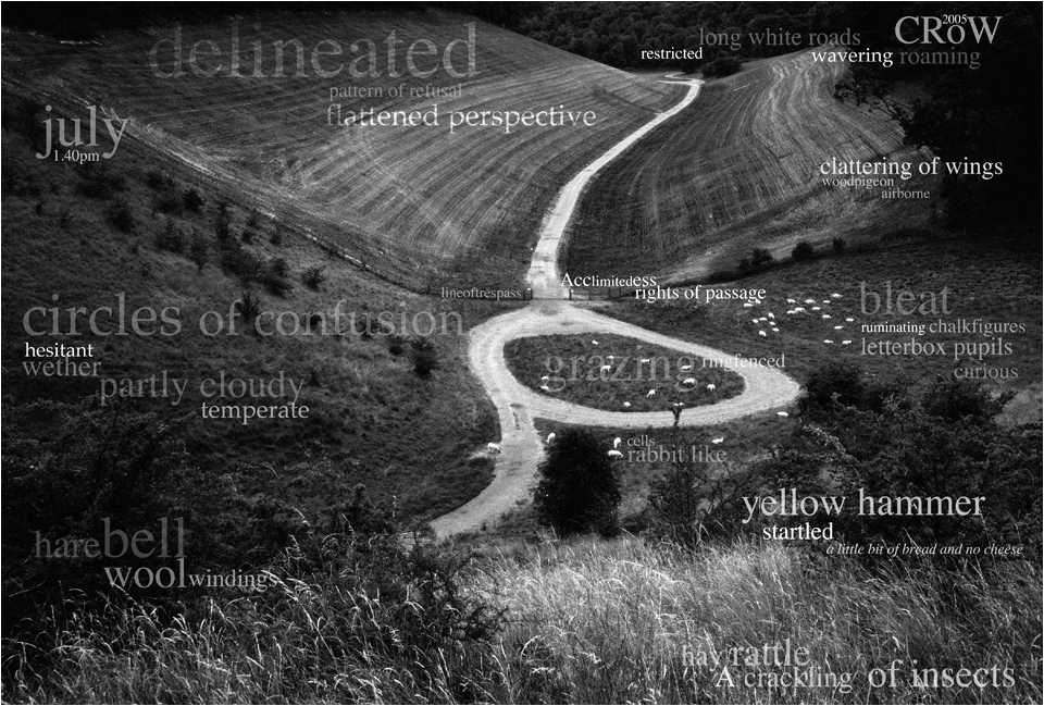 Black and white image of Well Dale in the Yorkshire Wolds