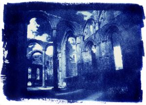 Fountains Abbey, Cyanotype,jpg